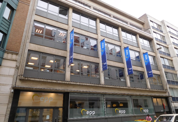 In the Brussels headquarters of the European People's Party (EPP), the European Seniors' Union also has established its office – the working place of President Hermans and Secretary Dumon