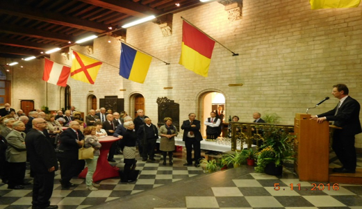 Reception in Leuven Town Hall