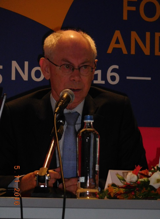 An important speech by Herman Van Rompuy, former President of the EU Council.