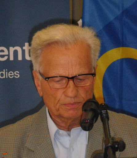Zibartas Jackunas from Vilnius speaks about a regional conference in the Baltic States.